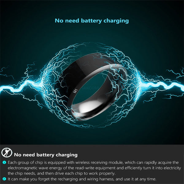 Waterproof Smart  Ring