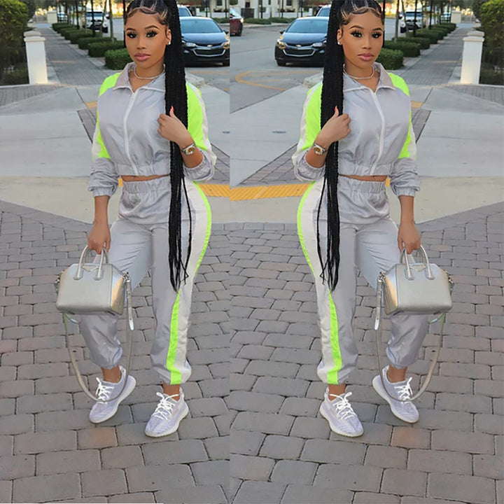 Neon Green Tracksuit