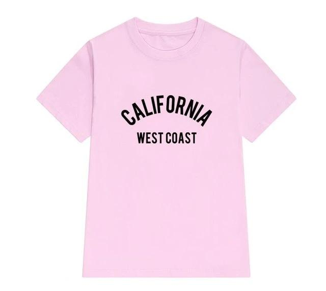 California west coast t-shirt