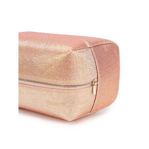 Rose Gold Glitter Cosmetic Bag - Pretty|Funkie
