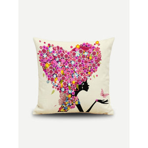 Heart Hair Pillow Case - Pretty|Funkie