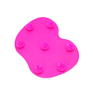 Hot Pink Apple Shaped Makeup Brush Cleaner - Pretty|Funkie