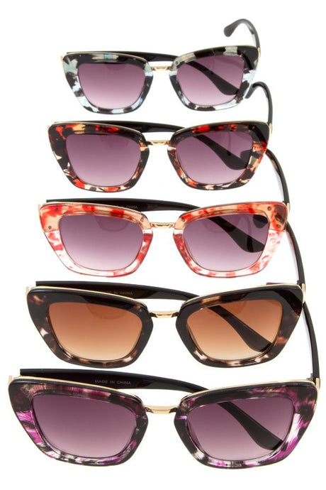 Tortoise Patterned Sunglasses - Pretty|Funkie