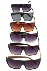 Oversize metal acent temple sunglasses - Pretty|Funkie