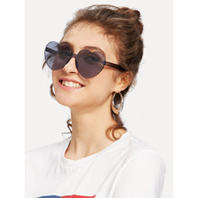 Black Heart Shaped Sunglasses - Pretty|Funkie