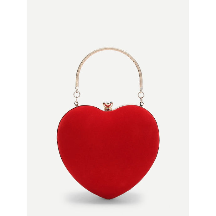 Heart Shaped Mini-Clutch - Pretty|Funkie