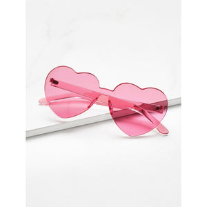 Rose Heart Shaped  Sunglasses - Pretty|Funkie