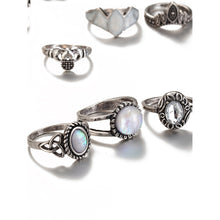 Turtle And Crown Design Ring Set - Pretty|Funkie