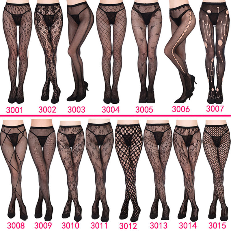 NEW 13 Style Sexy Women Long Fishnet Sexy Stockings Pantyhose