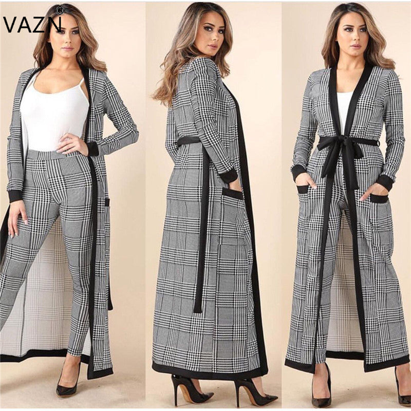 New Fashion Brand 2018 Casual Rompers Full Sleeve Long Jumpsuit