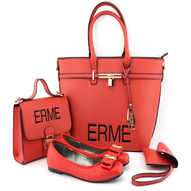Italian Shoes with Matching Bags High Quality Woman Italian
