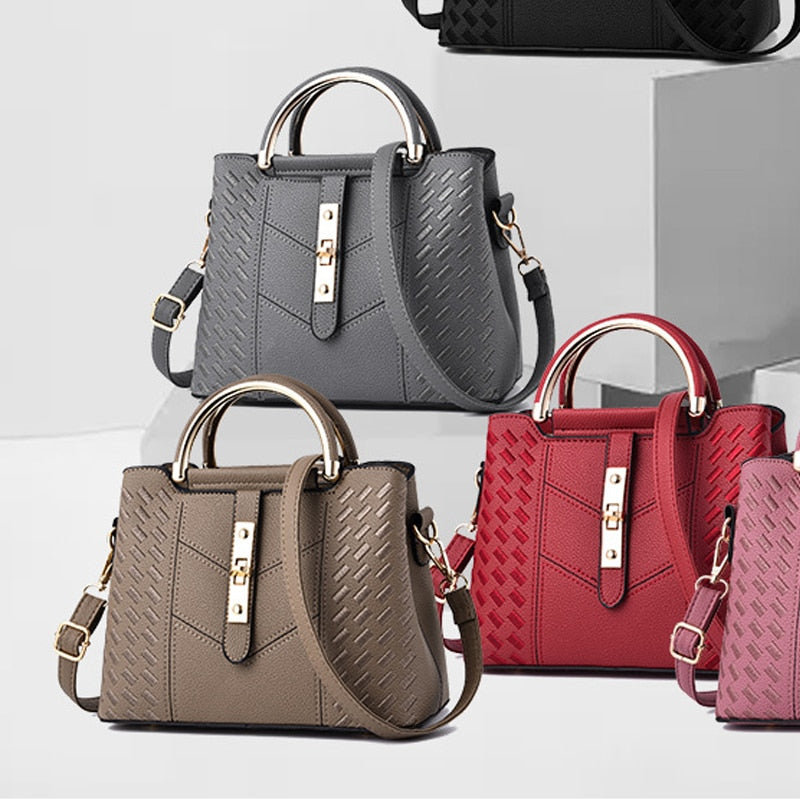 2019 New Summer Women's Bag Trend Personality Pattern Hardware Lock
