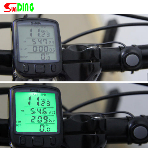 LCD Backlight Bike Computer