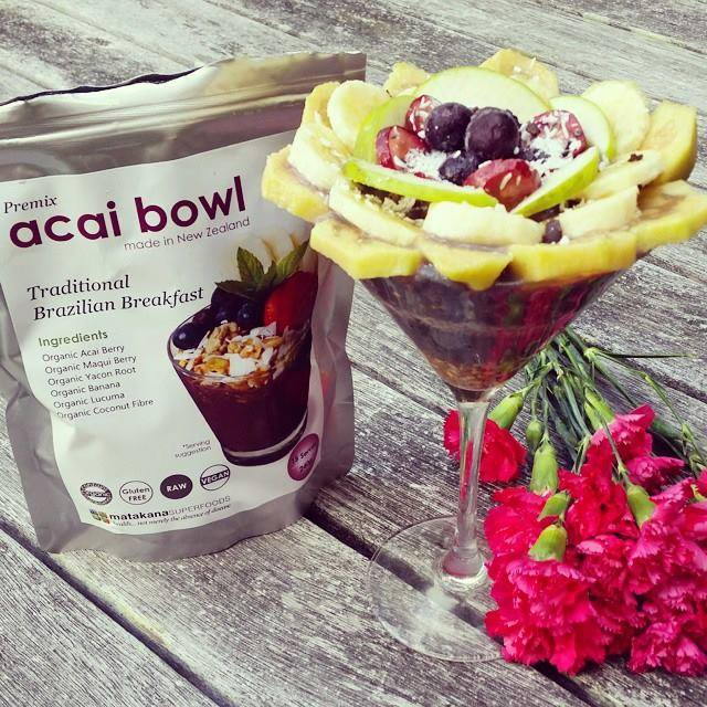 Acai Antioxidant Heaven in a Glass!