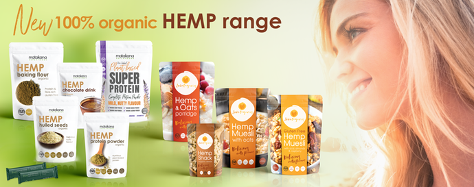Matakana SuperFoods launches a brand new products line with Hemp