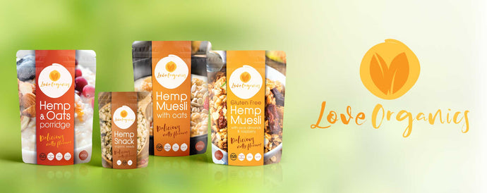 Matakana Superfoods launches a new organic brand LOVE ORGANICS
