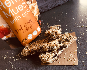 All Too Easy Organic Hemp Granola Bars