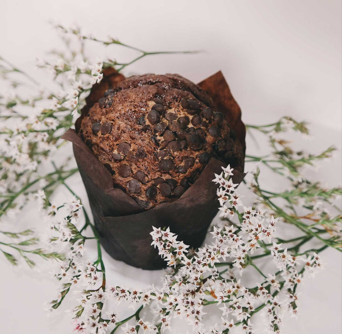 Ultimate Hemp Protein Chocolate Muffins