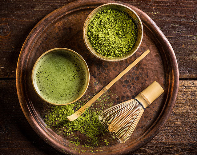 Relax with Matcha, the Superfood Green Tea