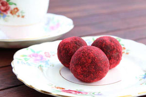 Raspberry and Cacao Energy Balls