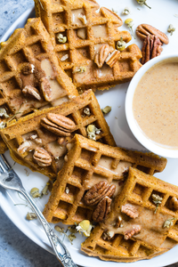 Quick & Easy Homemade Hemp Waffles
