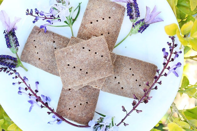 Purple Corn Shortbread