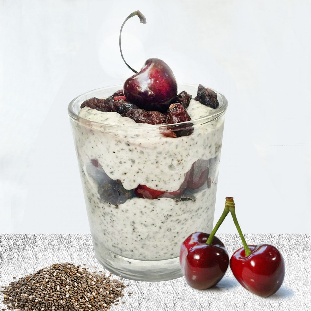 Maple Chia Layer Pudding