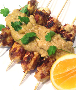 Satay Chicken Kebabs