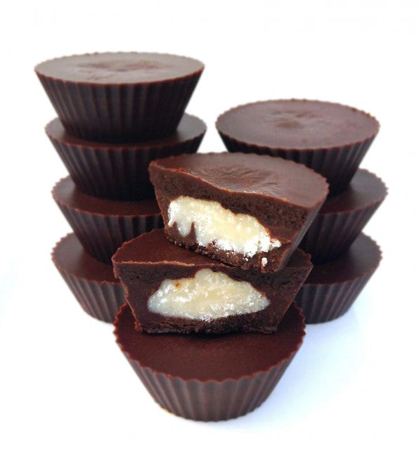 Dark Chocolate Peppermint Cups