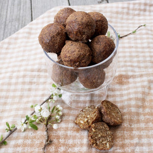 Ginger & Cinnamon Bliss Balls
