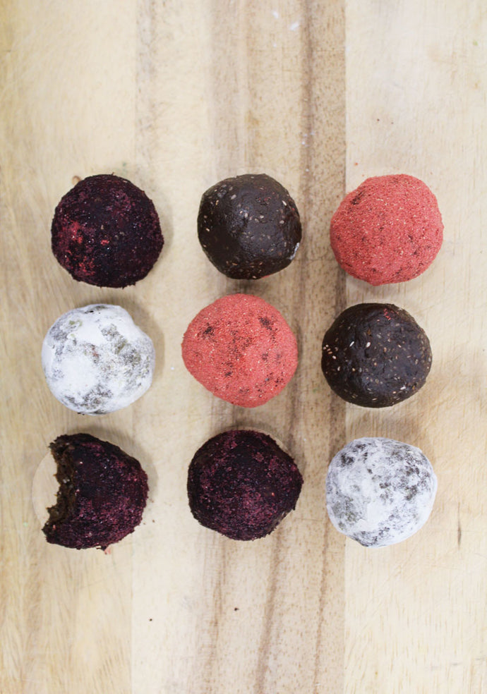 Hemp and Cacao Protein Balls