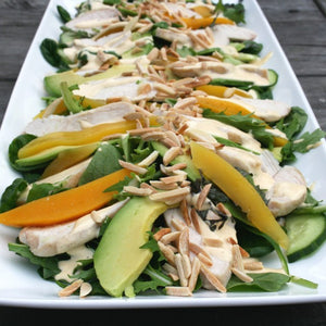 Chicken Mango Salad w/Lemon Aioli
