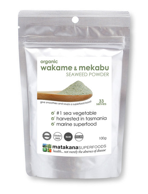 New Product - Organic Wakame & Mekabu Seaweed Powder