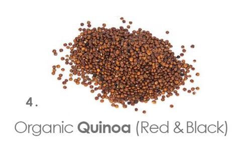 Buy organic black and red quinoa