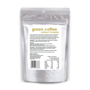 Green Coffee Extract 100g - Matakana Superfoods
