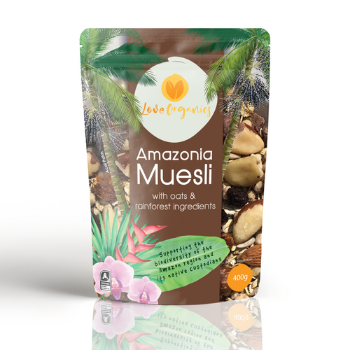 Love Organics Amazonia Muesli With Oats And Rainforest Ingredients 400G