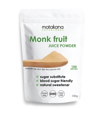 Monk Fruit Juice Powder 100g - Matakana Superfoods