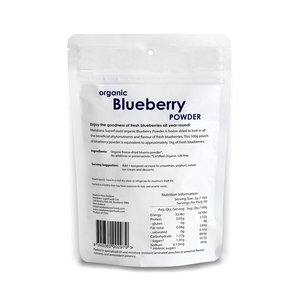 Organic Blueberry Powder 100g - Matakana Superfoods