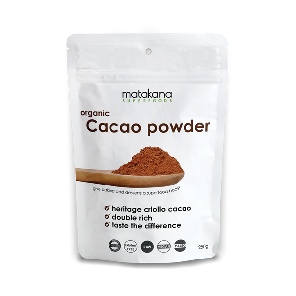 Organic Cacao Powder - Matakana Superfoods