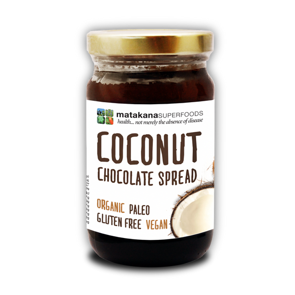 Organic Coconut Chocolate Spread 250g - Matakana Superfoods