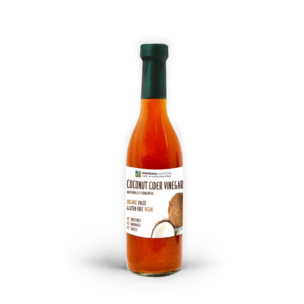 Organic Coconut Cider Vinegar 375ml - Matakana Superfoods