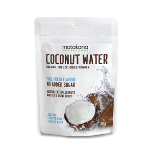 Organic Coconut Water Powder 100g - Matakana Superfoods