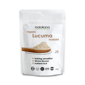 Organic Lucuma Powder 250g - Matakana Superfoods