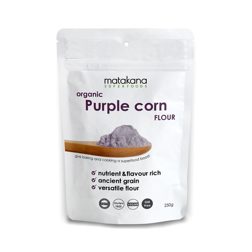 Organic Purple Corn Flour 250g - Matakana Superfoods