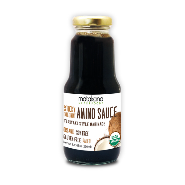 Organic Sticky Coconut Amino Sauce 250ml - Matakana Superfoods