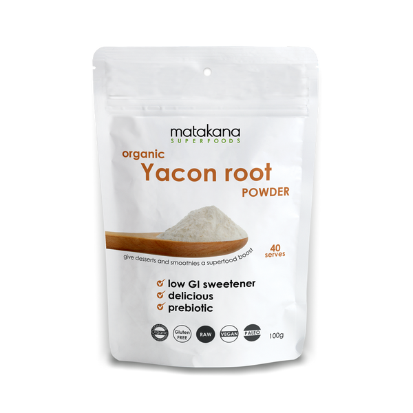 Organic Yacon Root Powder 100g - Matakana Superfoods