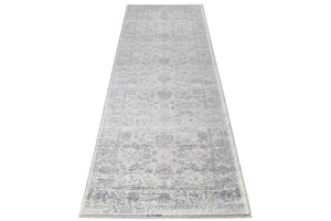 Santori Persian Traditional Cream Dark Beige Area Rug Runner