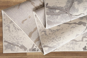 Boundless Ivory Rustic  Area rug