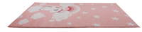 Light Pink Unicorn Kids Area Rug