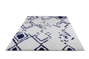 Shaggy Kenitra European Abstract Soft Polypropylene Modern Rug